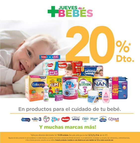 Ofertas de Cruz Verde, Jueves bebés