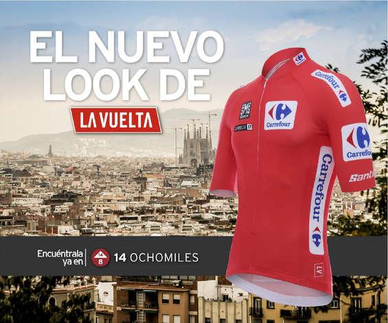 Ofertas de 14 Ochomiles, El nuevo look de La Vuelta