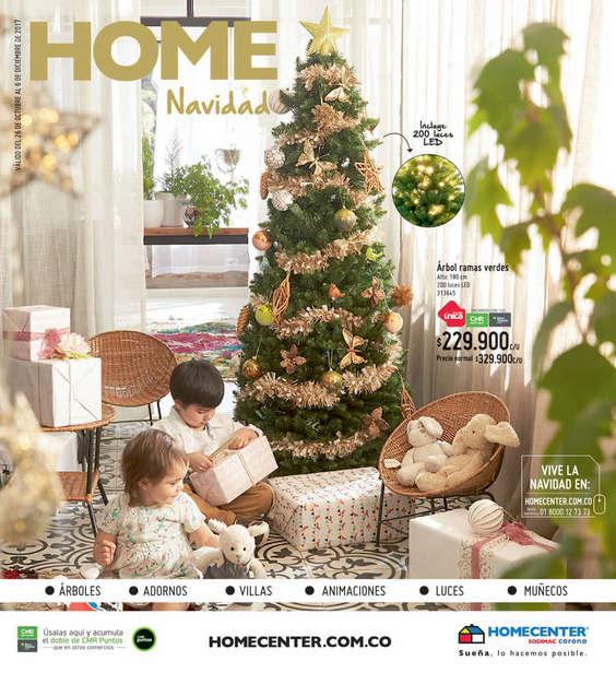 Ofertas de HomeCenter, Catálogo Navidad