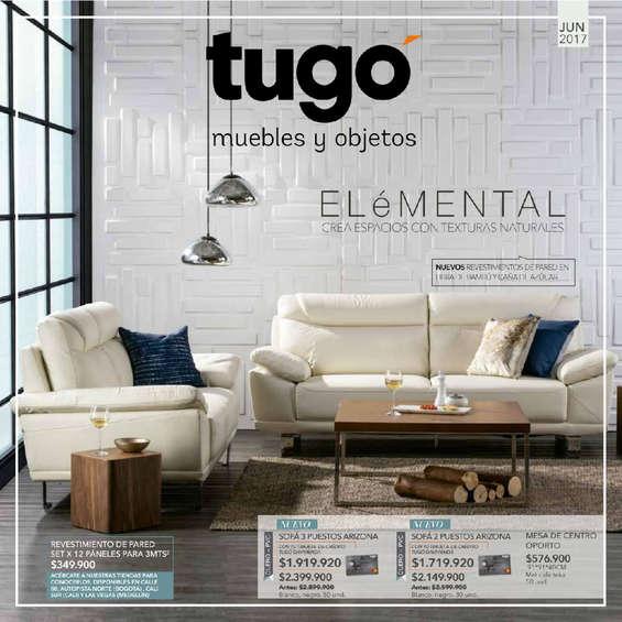 Ofertas de Tugó, Catálogo Junio 2017 - Elémental, crea espacios con texturas naturales