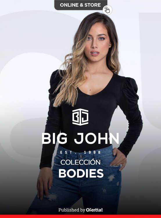 Ofertas de Big John Wear, Bodies