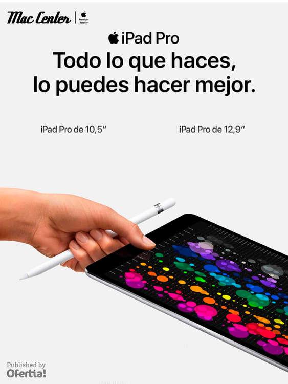Ofertas de Mac Center, iPad Pro