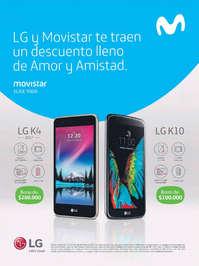 LG y Movistar te traen un descuento lleno de Amor y Amistad