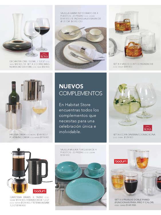 Comprar copas de coctel en cali tiendas y promociones for Habitat store muebles