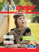 Ofertas de Super Droguerías Olímpica, Catálogo Vivir Mejor - La fiesta de los niños