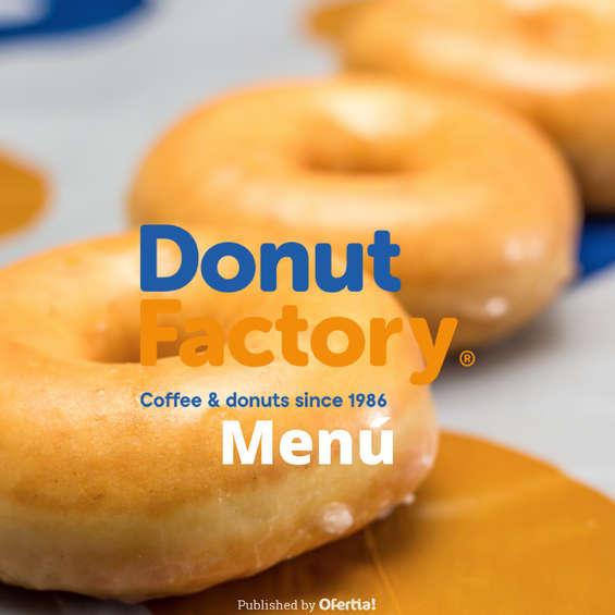 Ofertas de Donut Factory, Menú