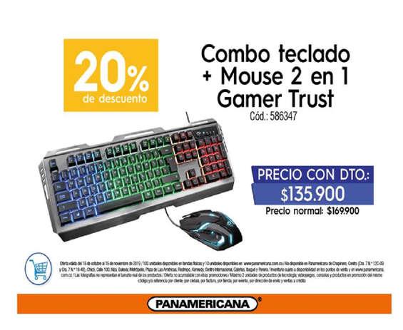 Ofertas de Librería Panamericana, Teclado+Mouse