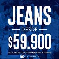 Jeans en promoción