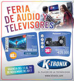 Ofertas de KTronix, Feria de audio y televisores