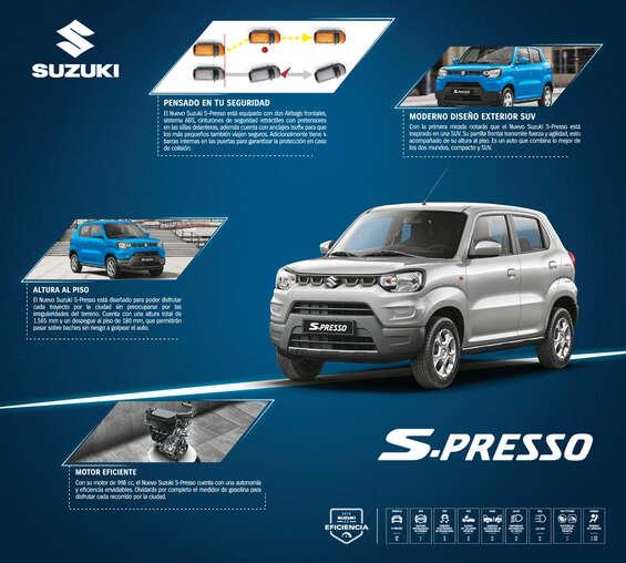 Ofertas de Suzuki Autos, S-Presso