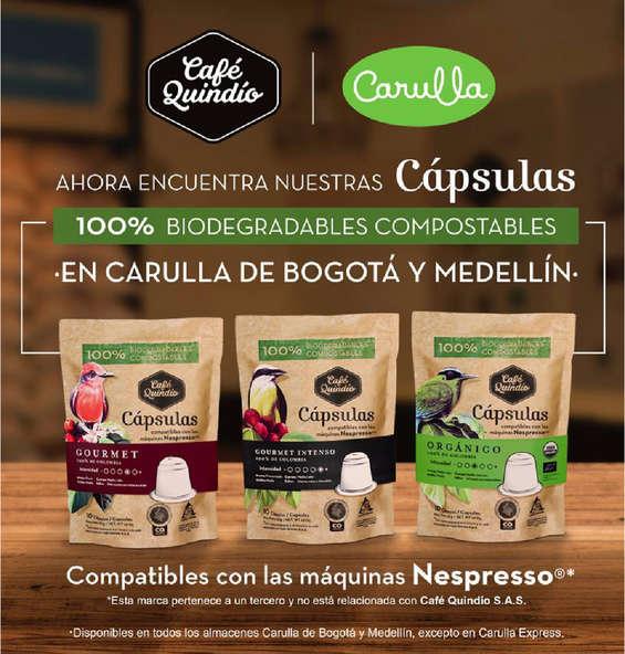 Ofertas de Café Quindío, Nuevas cápsulas