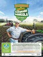 Ofertas de Banco Agrario de Colombia, Decídase a crecer, con el crédito para máquina agrícola