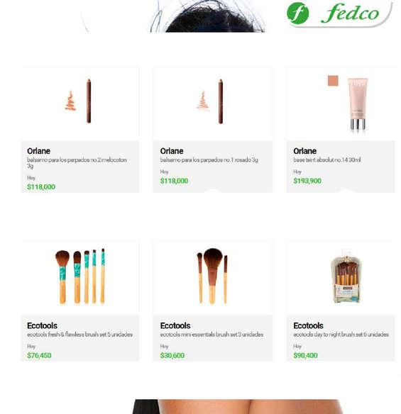 Ofertas de Fedco, Maquillaje