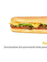 Ofertas de Sandwich Qbano, Menú