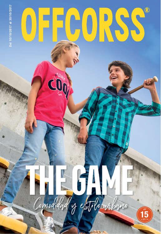 Ofertas de Offcorss, The Game, comodidad y estilo urbano - Campaña 15 de 2017