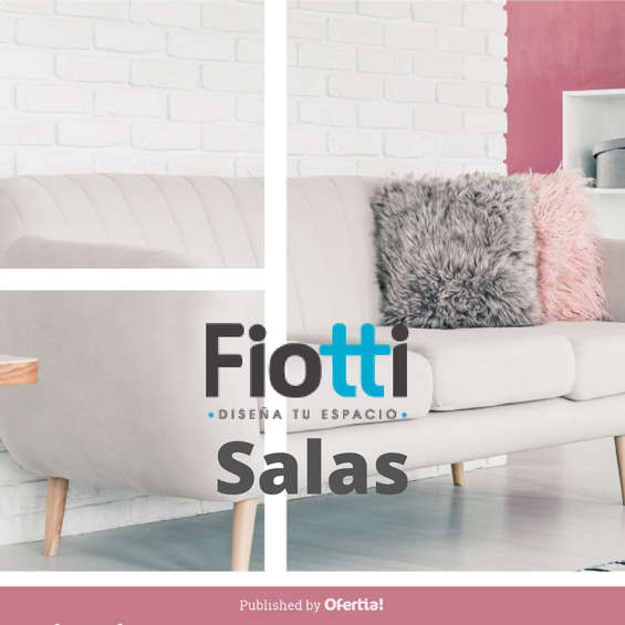 Ofertas de Fiotti Super Almacén de Muebles, Salas