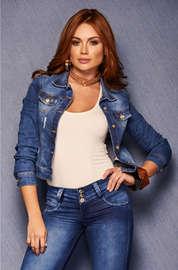 Chaquetas de jean de mujer