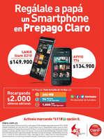 Ofertas de Claro, Regálale a papá un Smartphone en Prepago Claro