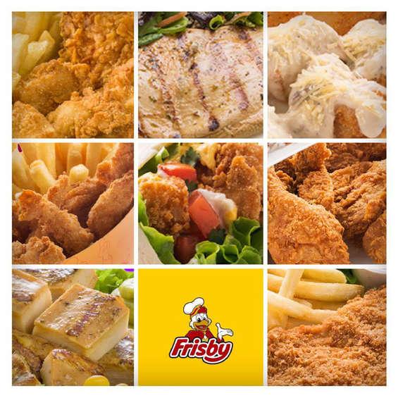 Ofertas de Frisby, Productos
