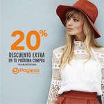 Ofertas de Payless, 20% descuento extra en tu próxima compra